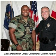 Christopher Dorner and LAPD Chief Bill Bratton