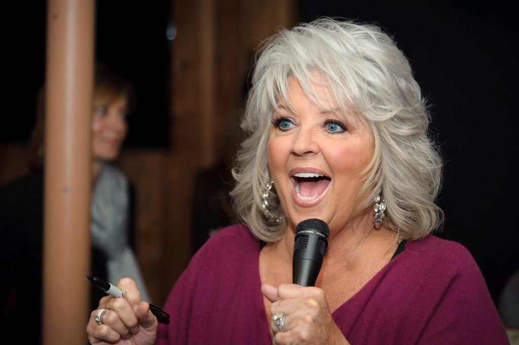 Paula Deen promotes the new book