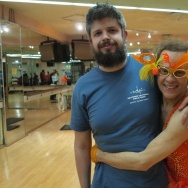 Kevin Ferguson with Richard Simmons