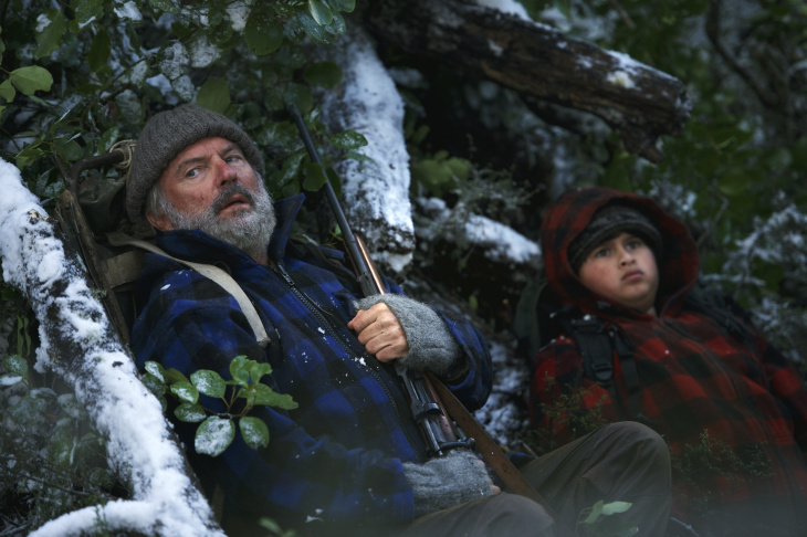 Julian Dennison and Sam Neill star in