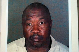"A photo of ""Grim Sleeper"" serial killer suspect Lonnie Franklin Jr. after being booked following his July 7, 2010 arrest."