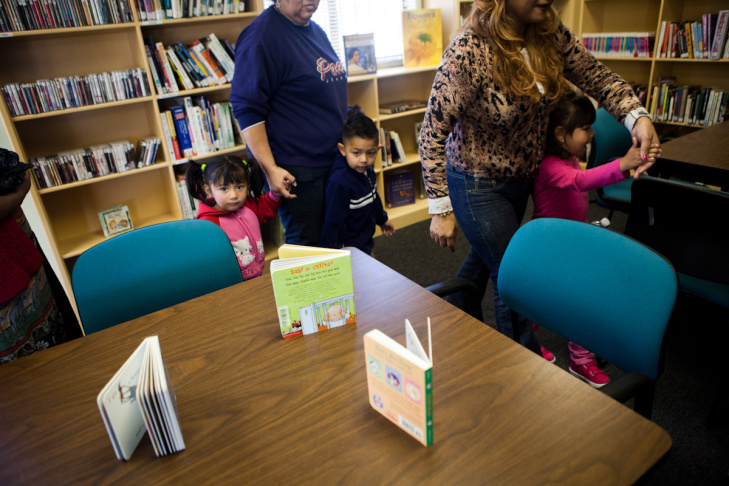 Before the opening of this library, children would have to walk through a neighboring gang territory and potentially face the consequences.