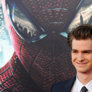 Actor Andrew Garfield arrives for the pr