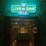"""""""To Live and Dine in L.A."""" showcases menus from restaurants in Los Angeles reaching back decades. The exhibit is at the L.A. Public Library's Central division until November 2015."""