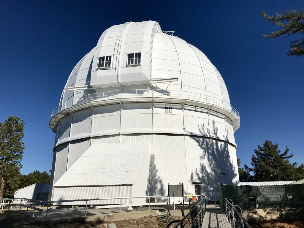 The Hooker Telescope dome.