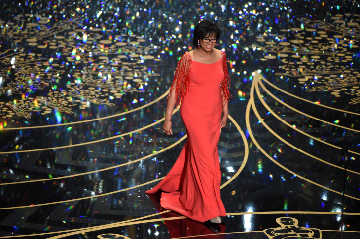 Academy of Motion Picture Arts and Sciences President Cheryl Boone Isaacs at the 2016 Academy Awards.
