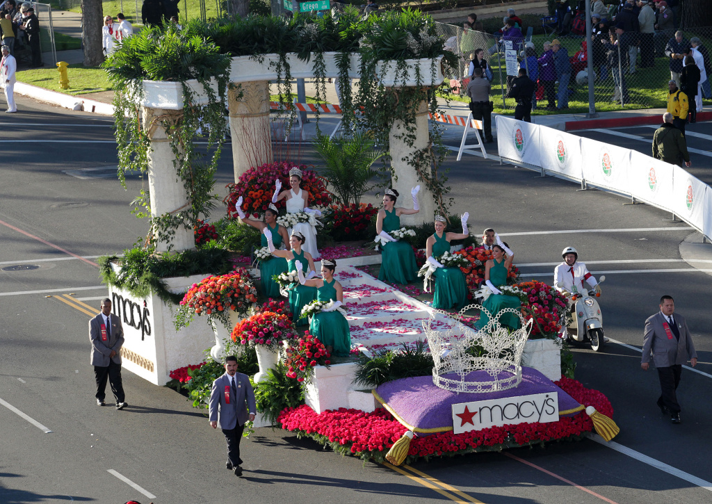Will Occupy protestors have a float at this year's Tournament of Roses parade?