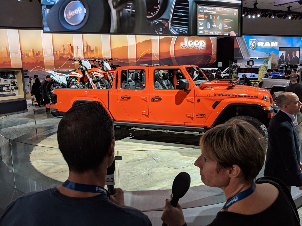 Take Two's A Martinez and Sue Carpenter check out what's new at the L.A. Auto Show.