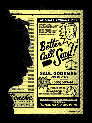 Chris Delorenzo for Saul Goodman