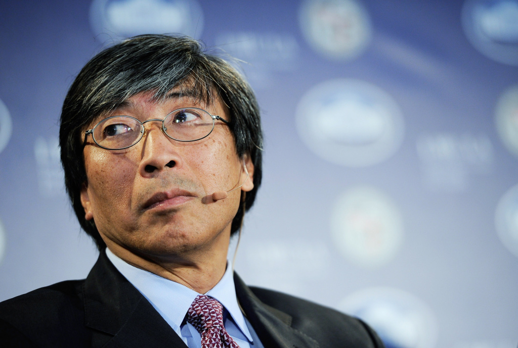 CEO of Abraxis Health Institute Patrick Soon-Shiong during a Urban Economic Forum co-hosted by White House Business Council and U.S. Small Business Administration at Loyola Marymount University on March 22, 2012 in Los Angeles, California.