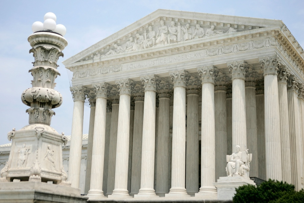 File: The exterior view of the U.S. Supreme Court is seen June 25, 2007 in Washington, DC.