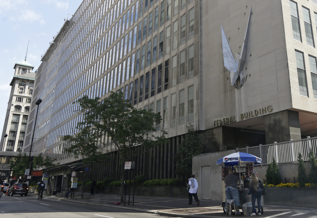 The John Weld Peck Federal Building in Cincinnati where many of the missteps by IRS workers who targeted conservative groups occurred.