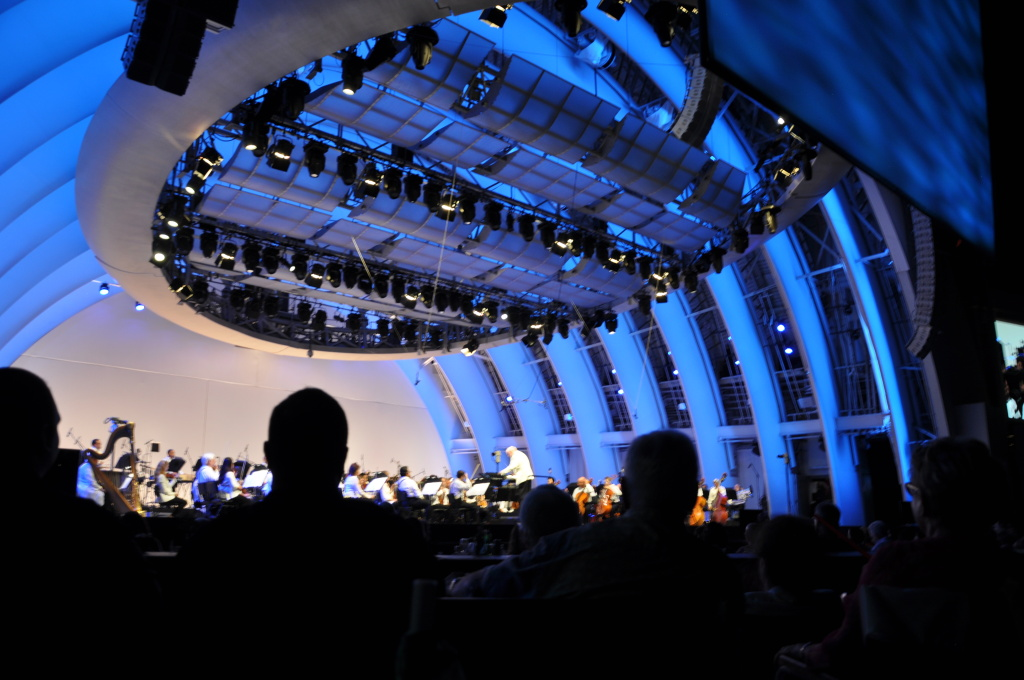 Hollywood Bowl concert in August 2013.