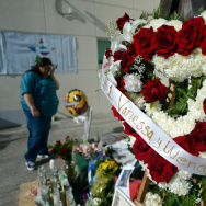 Mourners Erect Memorial For Singer Jenni Rivera After Fatal Plane Crash