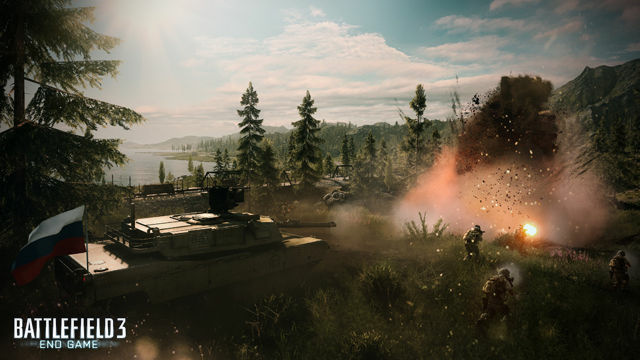 Redwood City-based Electronic Arts makes video games, like Battlefield.