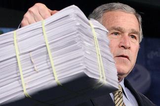 bush emails