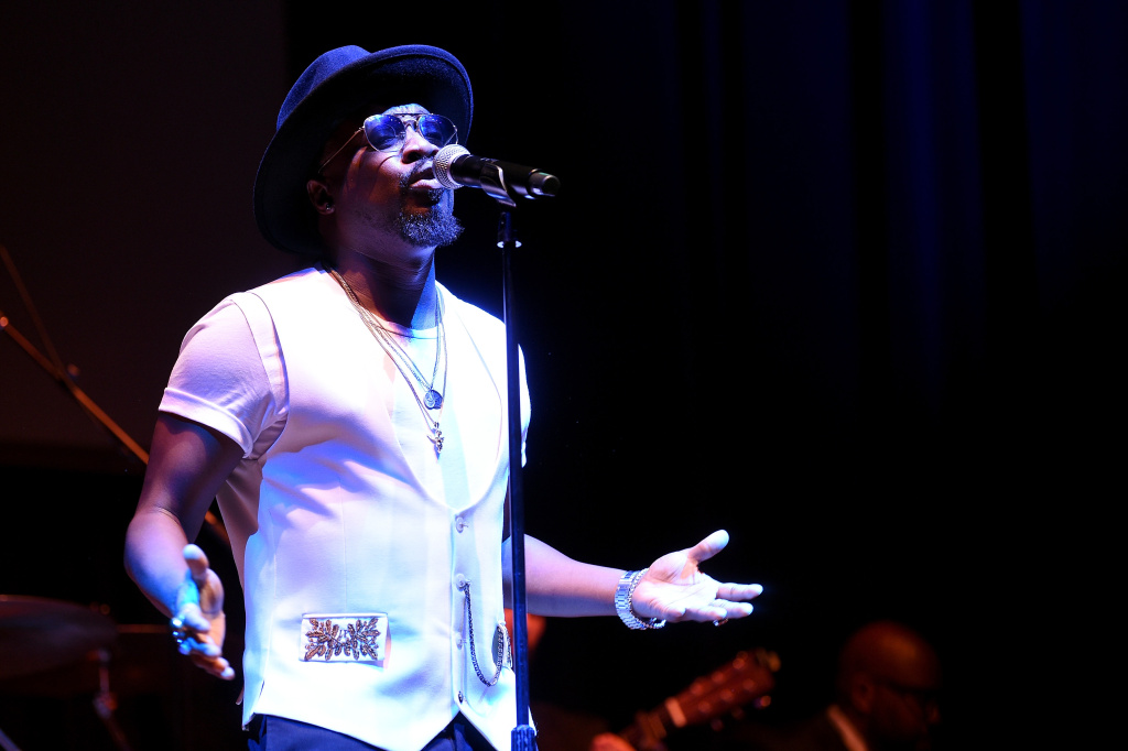 Singer-songwriter Anthony Hamilton performs onstage during the NMAAM Celebration of Legends Gala on May 31, 2018 in Nashville, Tennessee.