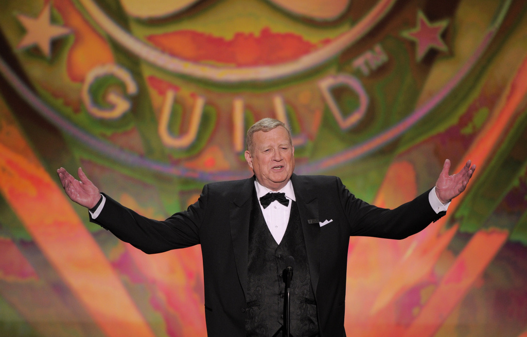 Screen Actors Guild President Ken Howard is seen onstage at the 18th Annual Screen Actors Guild Awards.