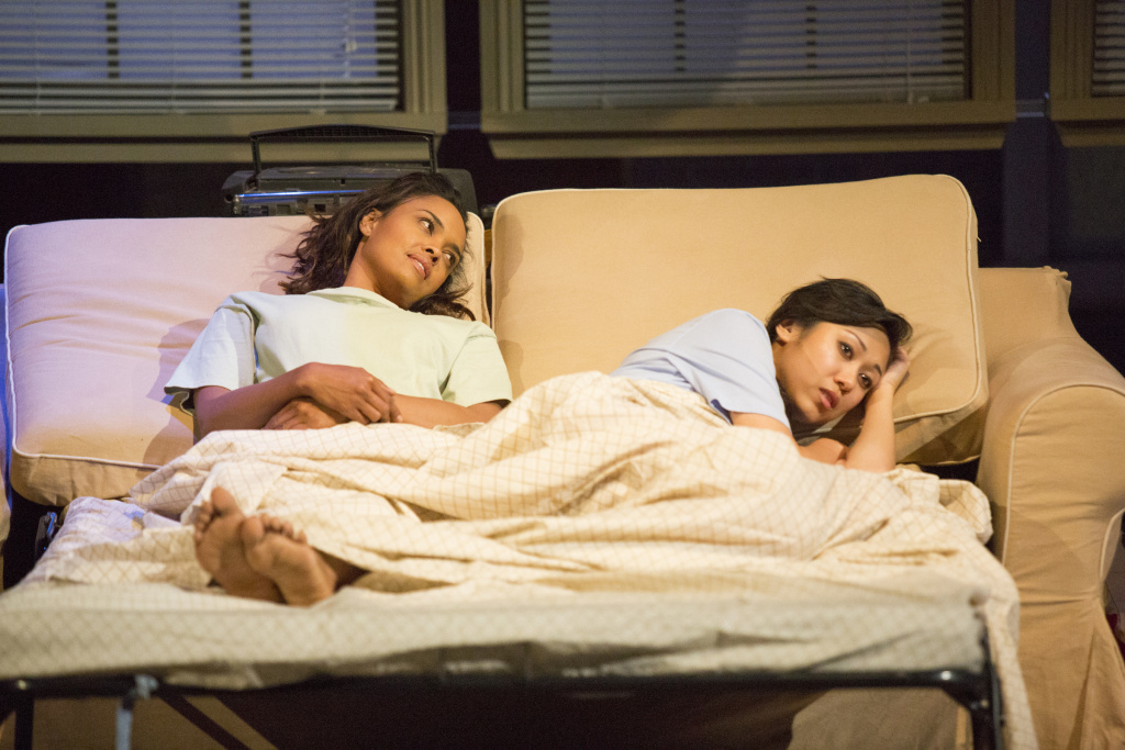Sharon Leal, left, and Angela Lin star in Seema Sueko's production of