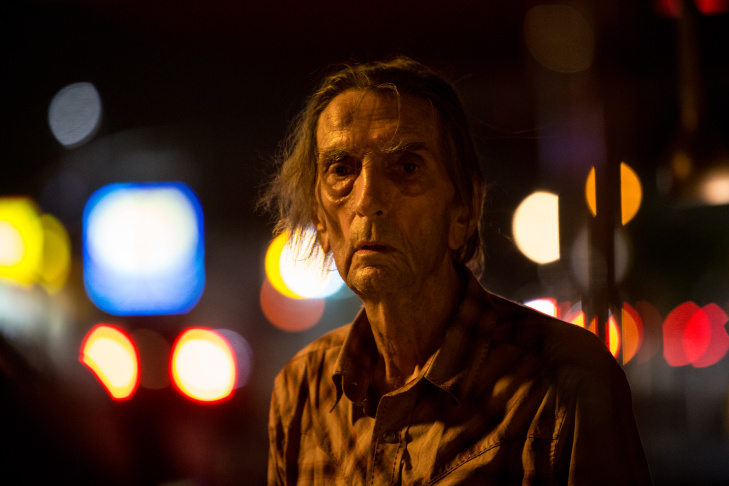 Harry Dean Stanton singing