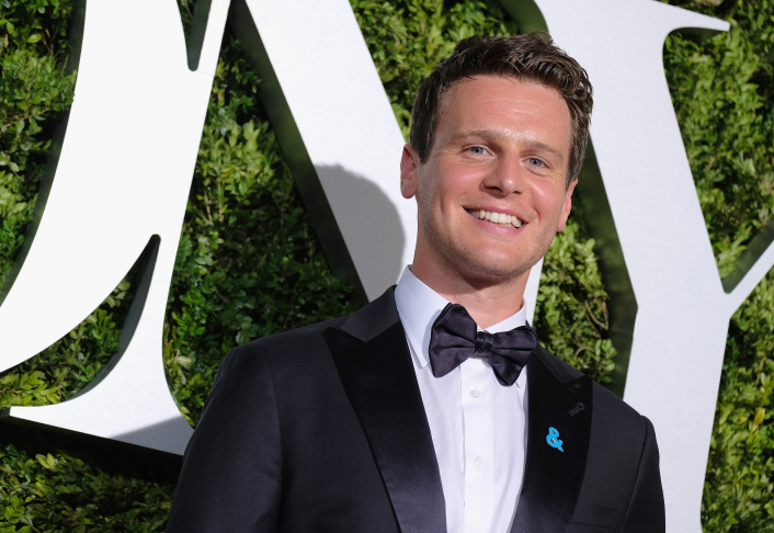 Jonathan Groff at the 2017 Tony Awards at Radio City Music Hall in New York City.