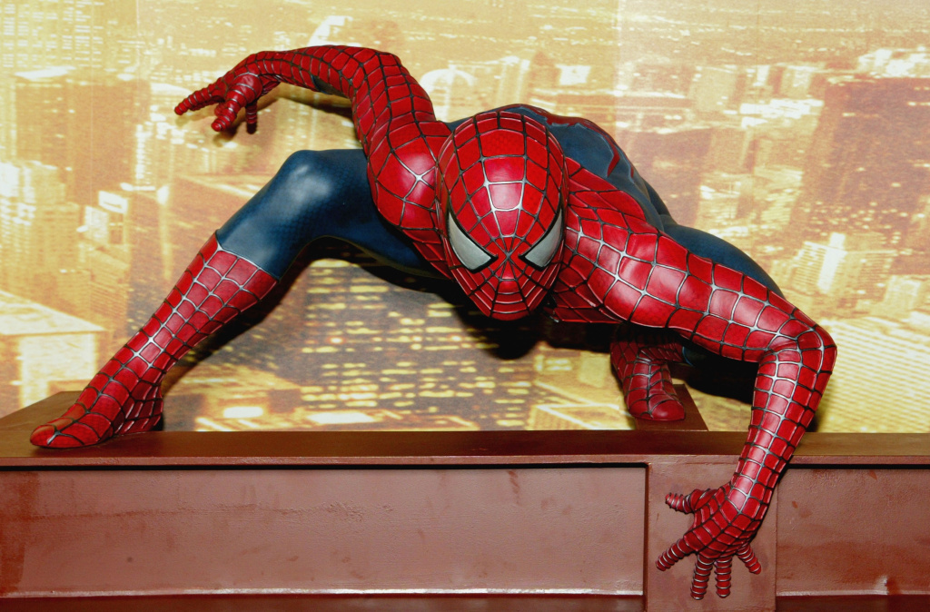 No, no. Wrong spider, man. (Gareth Cattermole/Getty Images)