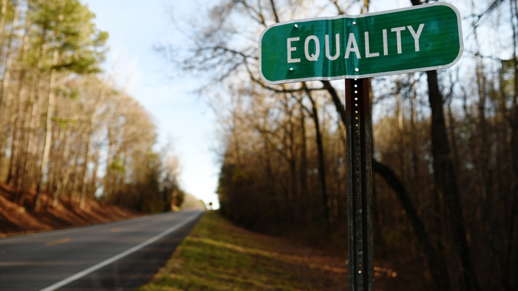The road to Equality, Ala., an unincorporated community in Coosa County. Alabama became the 37th state to legalize same-sex marriages Monday.