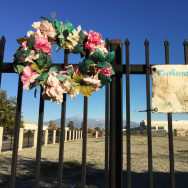 A memorial to the victims killed in San Bernardino, Calif., on Dec. 2, 2015.