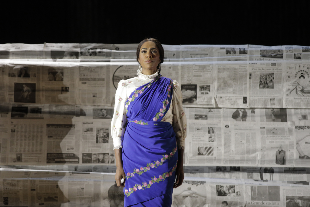 J'Nai Bridges performs in L.A. Opera's production of Philip Glass'
