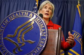 Secretary of the Department Health & Human Services, Kathleen Sebelius