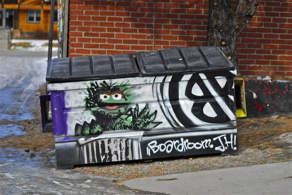 Oscar the Grouch did not write this song of the week.