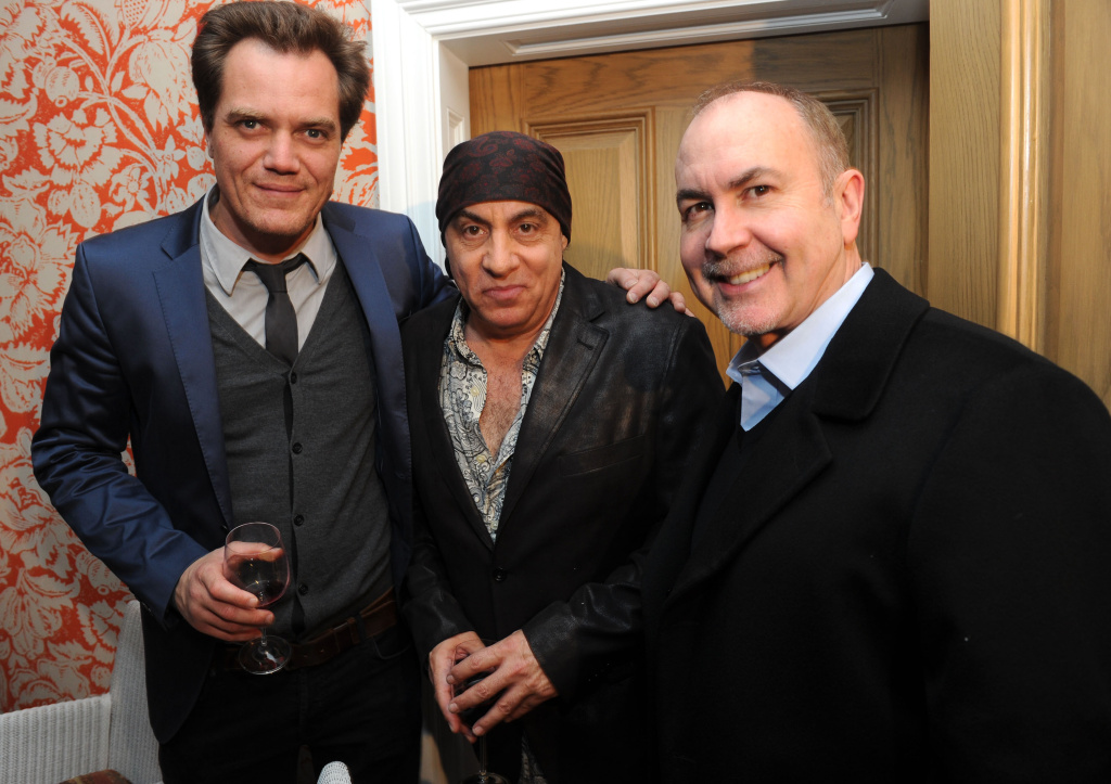 (L-R) Actors Michael Shannon, Steven Van Zandt and Terence Winter attend the North American Premiere Of