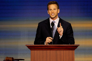 Illinois GOP rep Aaron Schock broke from the party ranks in calling for a path to citizenship for immigrants in the country illegally.