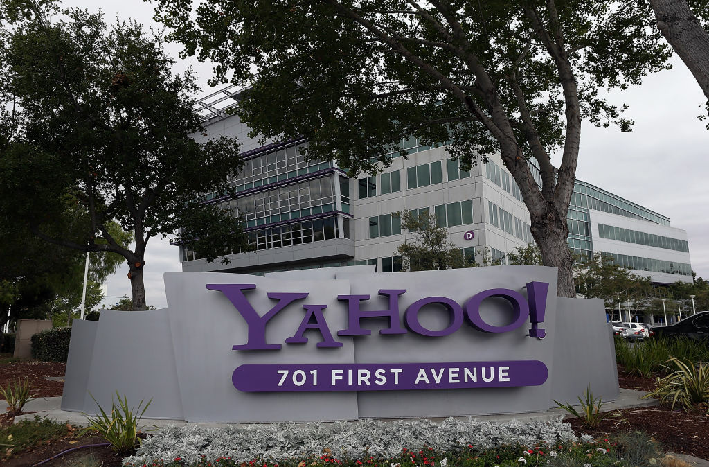 The Yahoo headquarters in Sunnyvale, California