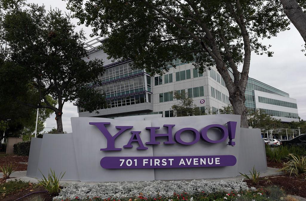 The Yahoo headquarters in Sunnyvale, California