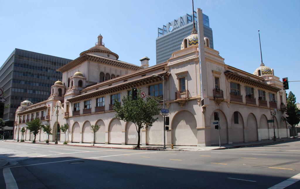 The Herald Examiner building in Los Angeles