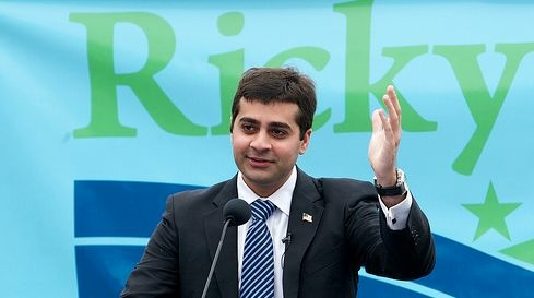 Ricky Gill is a candidate for Congress from the San Joaquin Valley. His parents were born in India.