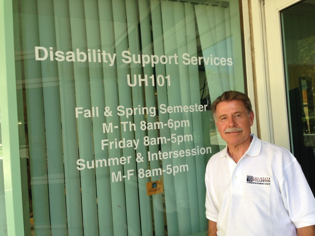 Paul Miller is the director of the Disability Support Services program at California State University Fullerton.
