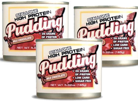 stallone pudding high protein low carb