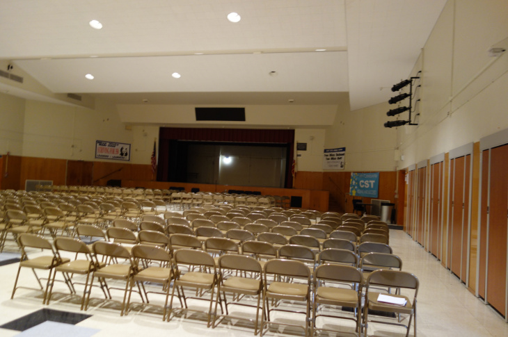 Olive Vista Middle School multipurpose room