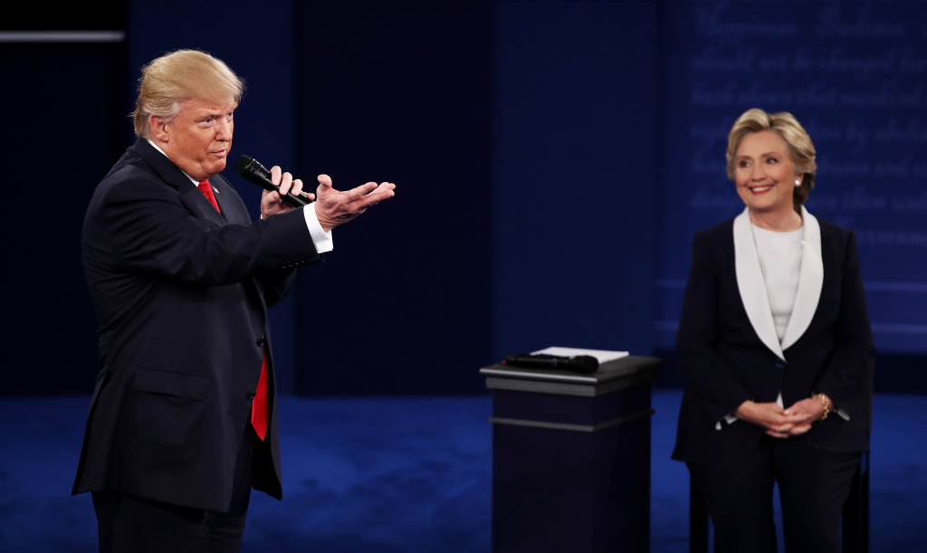 What were 5 points made in the presidential debate?