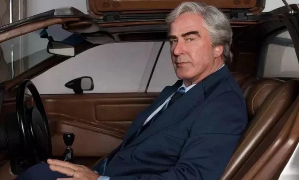 Alec Baldwin plays the fast-living car designer in