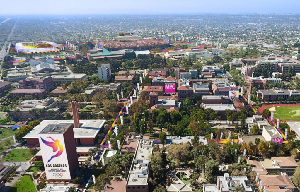 USC will provide 3,200 beds for journalists from all over the world.