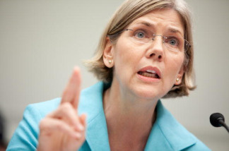 Elizabeth Warren, chairman of the TARP Congressional Oversight Panel, testifies at a hearing on Capitol Hill, on July 22, 2009 in Washington, DC.