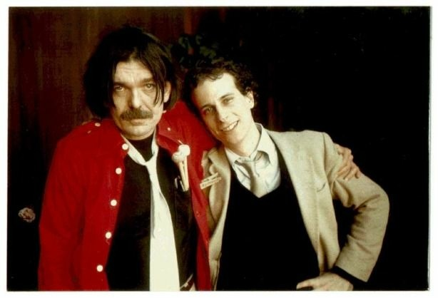 Gary Lucas (right) with Don Van Vliet, AKA Captain Beefheart in 1980