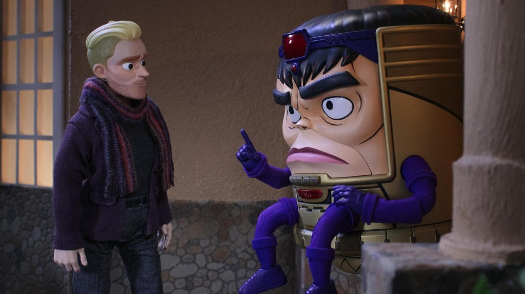 Two evil geniuses: A tech mogul Austin Van Der Sleet (voiced by Beck Bennett) and Mental Organism Designed Only for Killing (voiced by Patton Oswalt).