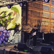 Kid Bloom performing at Broke LA in 2016.