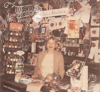 Perla Batalla on the Santa Monica corner where her family's record store, Discoteca Batalla, was once located.