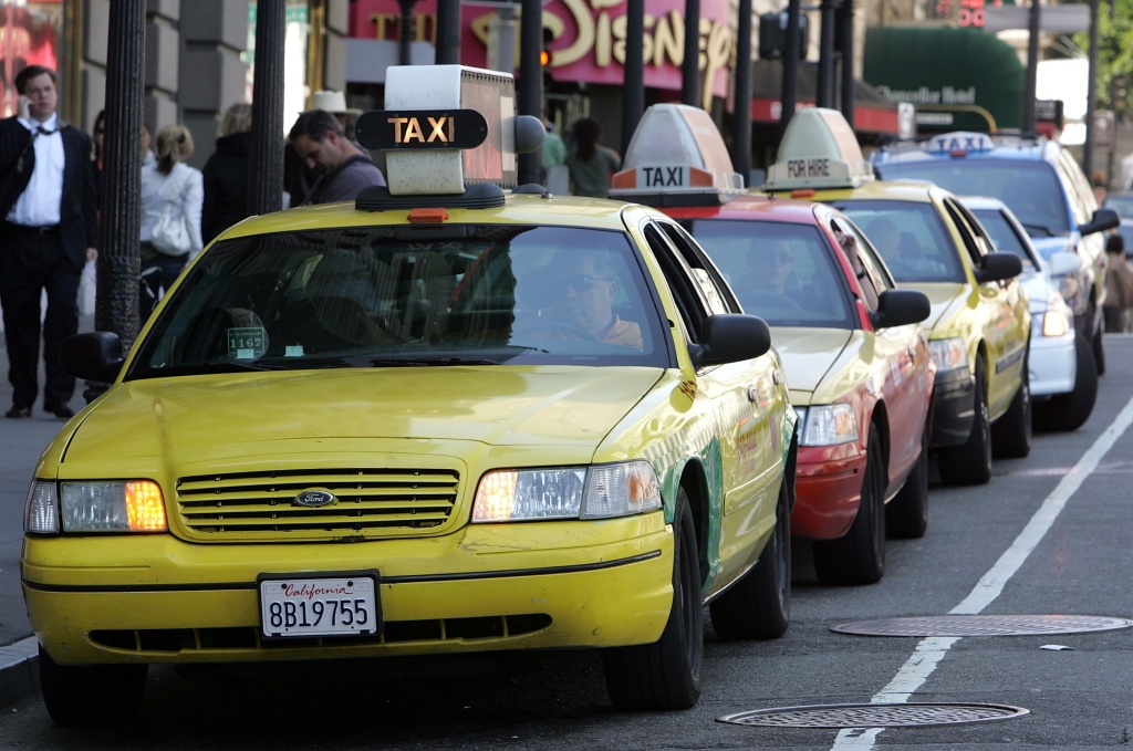 Will this force the taxi industry to evolve or is this the beginning of the end for the traditional yellow cab?
