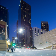 The Broad museum, on Grand Avenue in downtown Los Angeles.